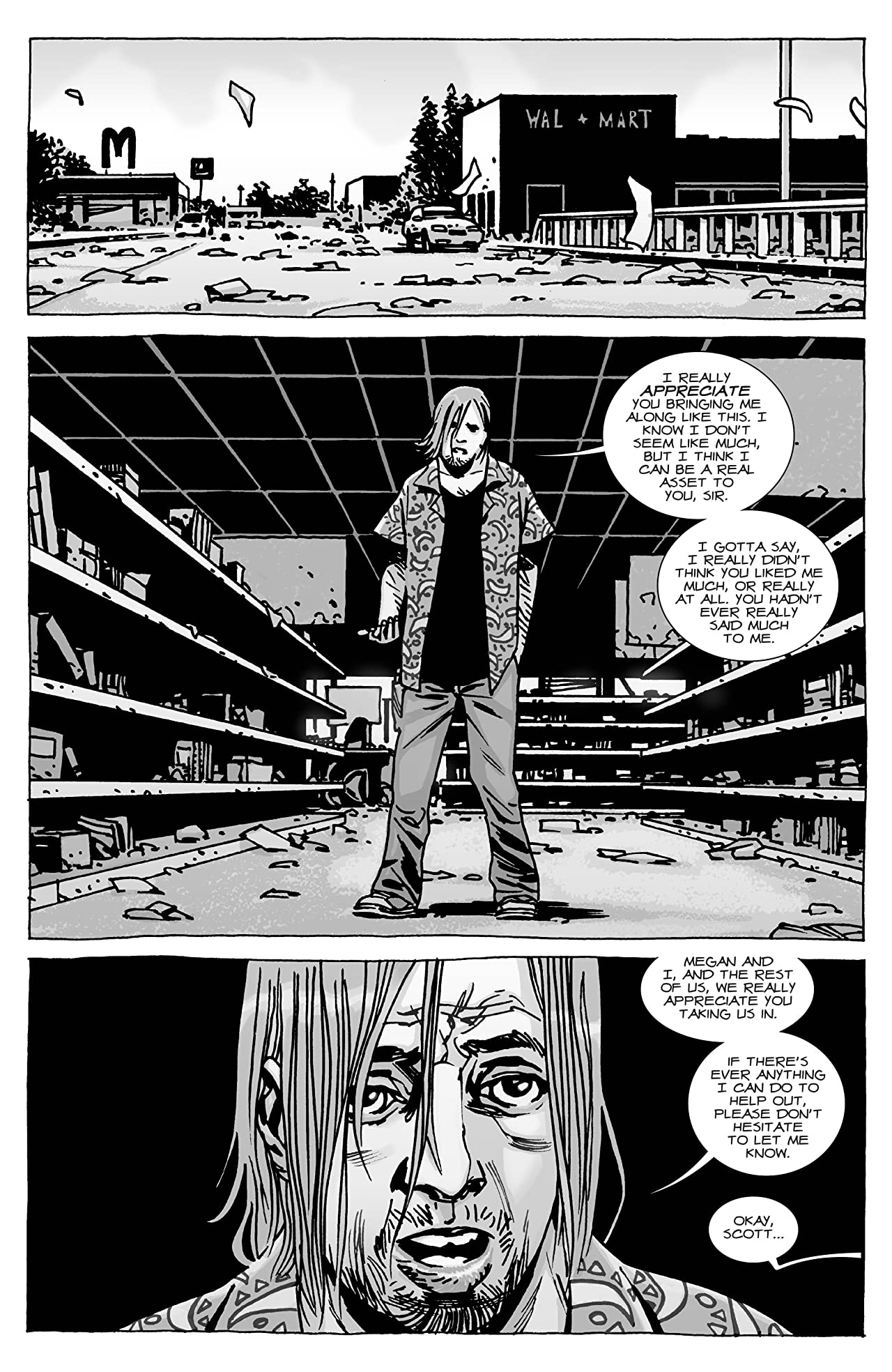 The Walking Dead Comic The Governor