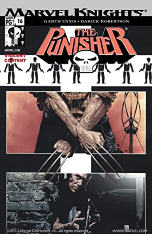 The Punisher (2001-2003) #16