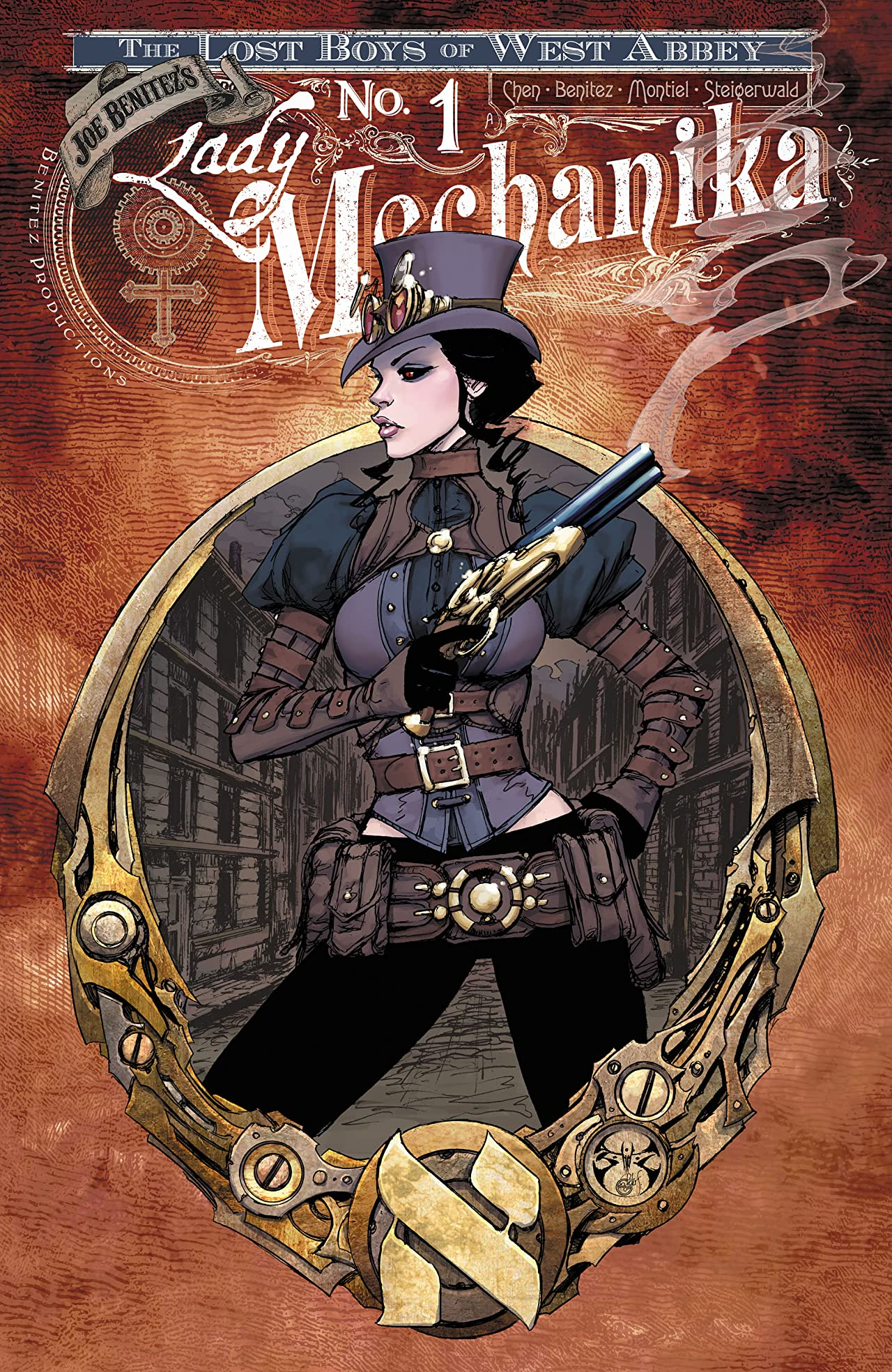 Lady Mechanika: Lost Boys of West Abbey #1
