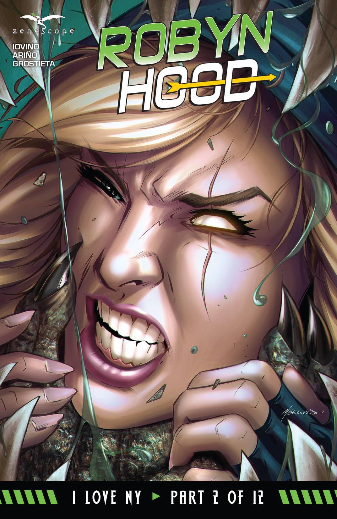 Robyn Hood: I Love NY #2