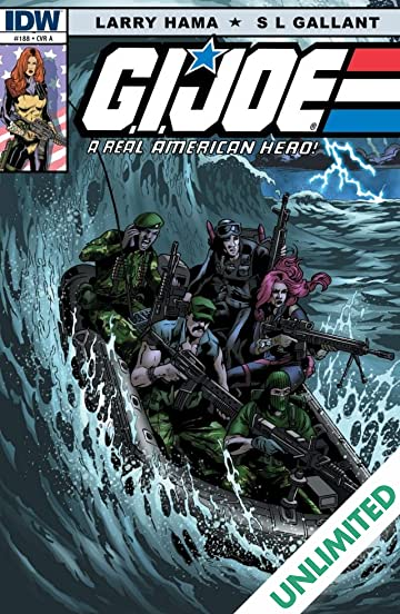 G.I. Joe: A Real American Hero #188