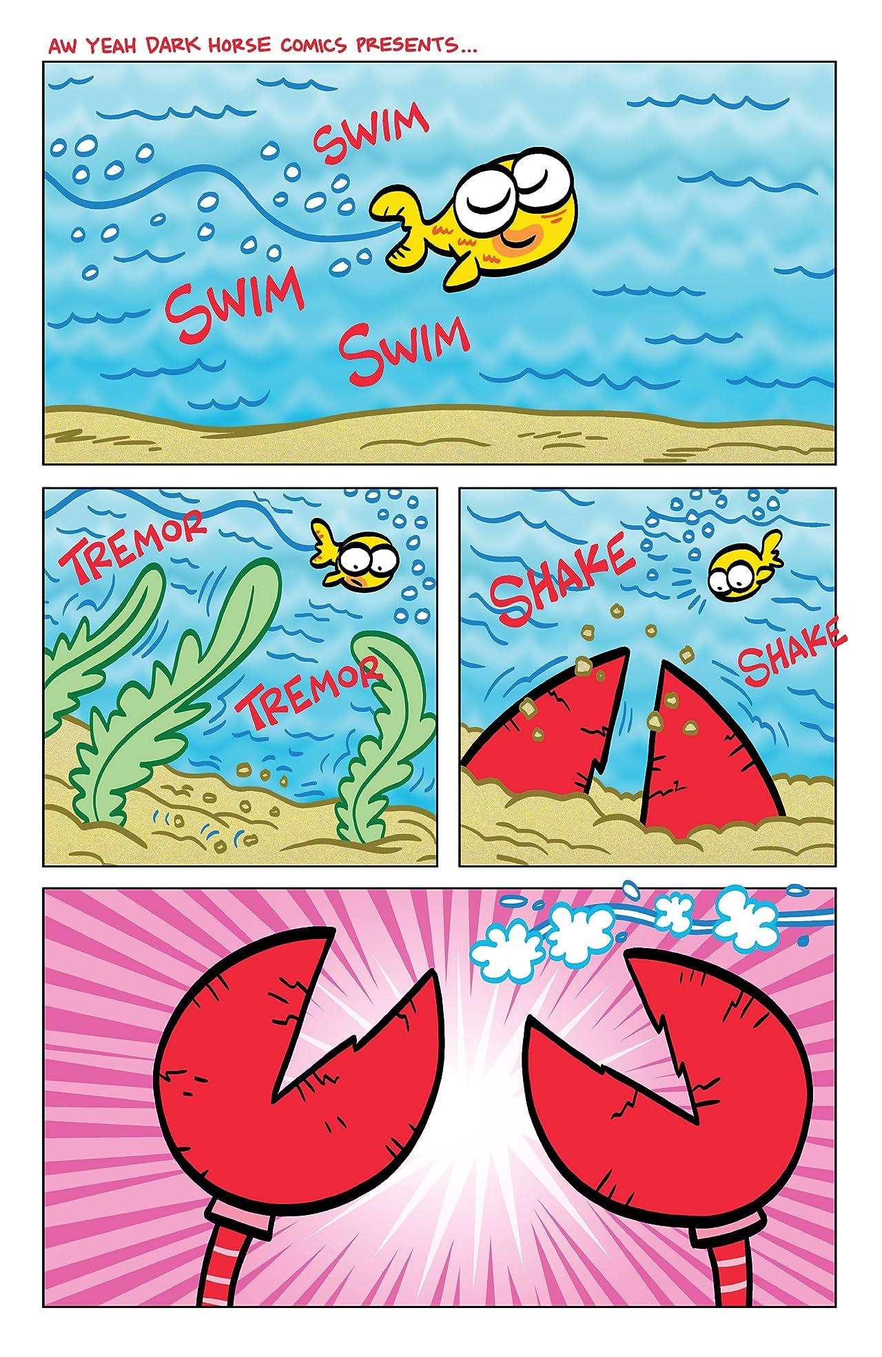 Aw Yeah Comics: Action Cat & Adventure Bug #4