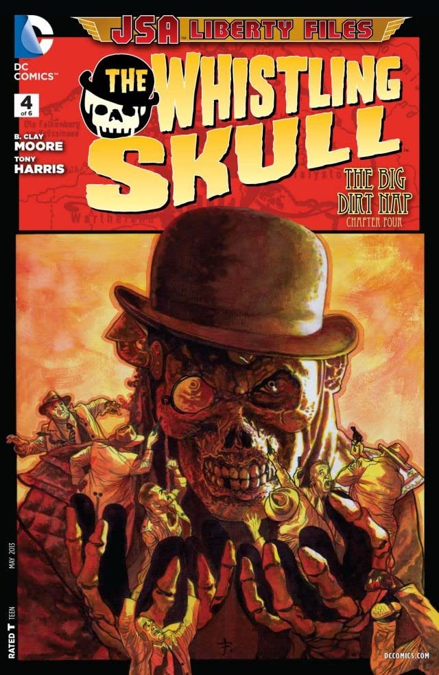 JSA Liberty Files: The Whistling Skull (2012) #4