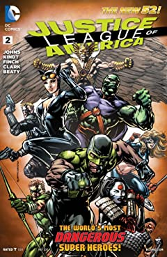 Justice League of America (2013-2015) No.2