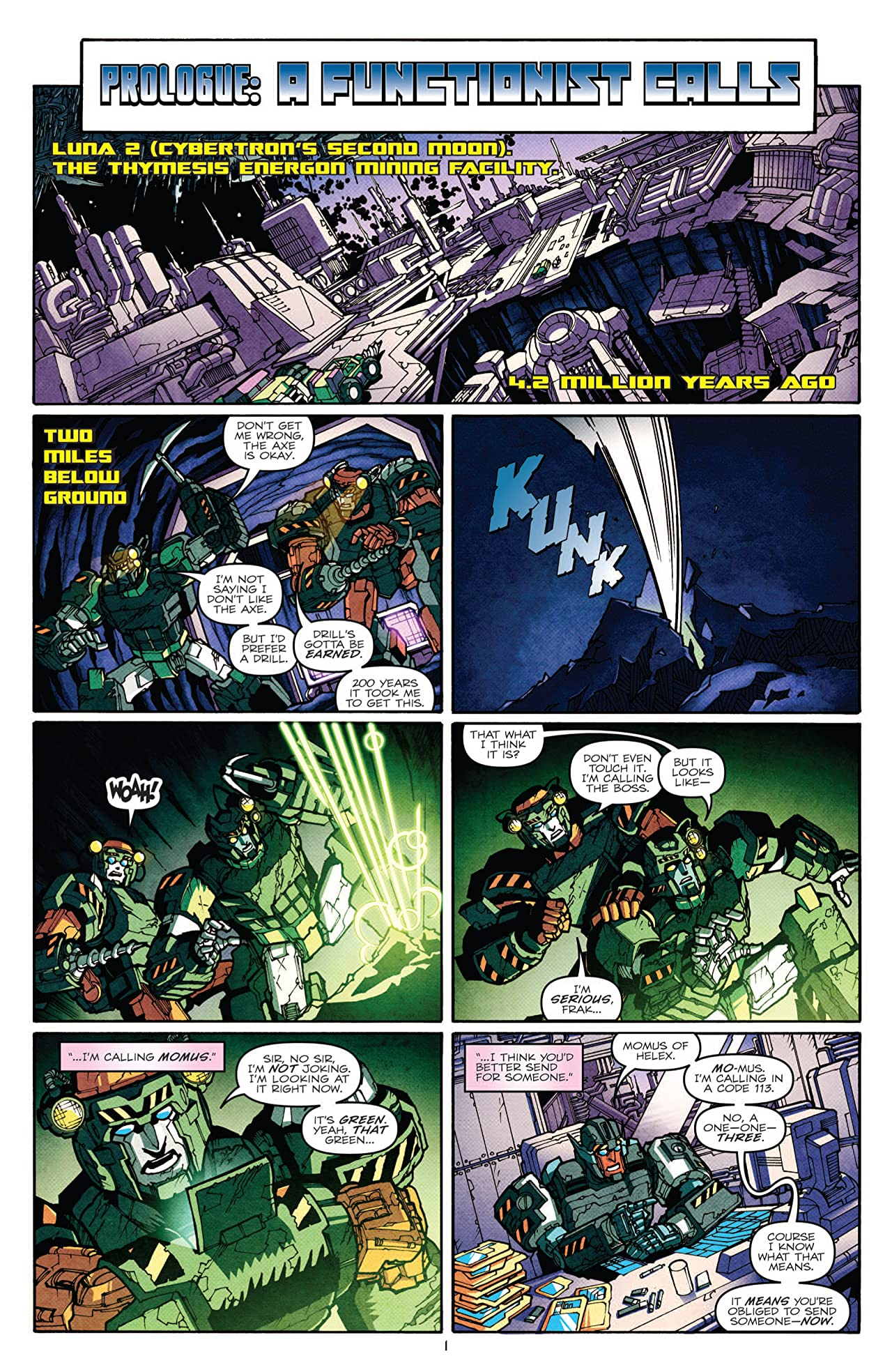 Transformers: More Than Meets the Eye (2011-) #14