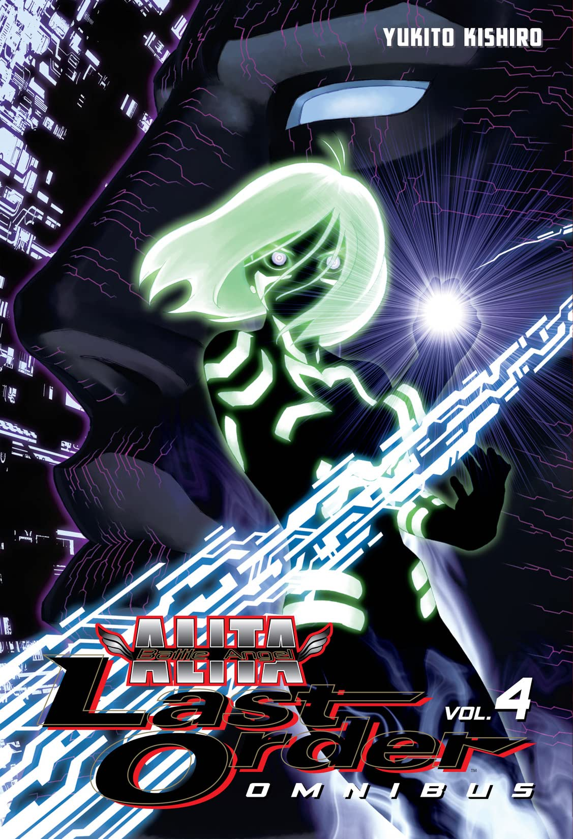 Battle Angel Alita: Last Order Omnibus Vol. 4