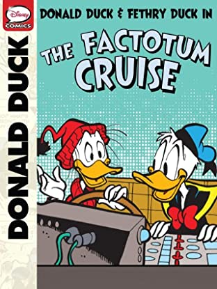 Donald Duck, Fethry Duck, and the Factotum Cruise