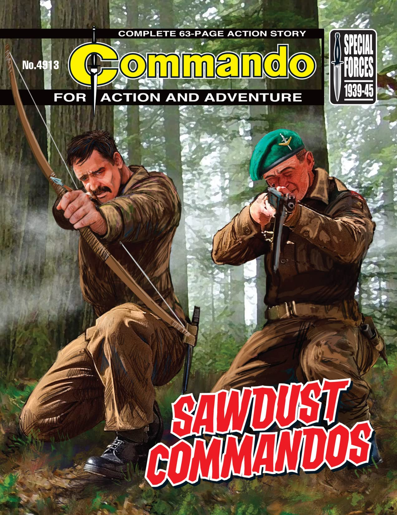 Commando #4913: Sawdust Commandos