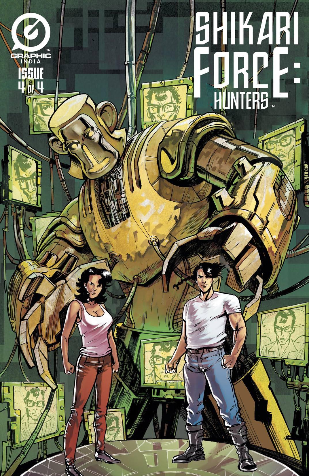 Shikari Force: Hunters #4 (of 4)