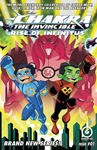 Stan Lee's Chakra The Invincible: Rise of Infinitus #1