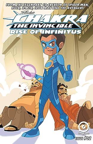 Stan Lee's Chakra The Invincible: Rise of Infinitus #2