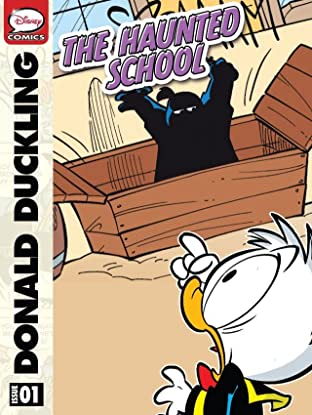 Donald Duckling and the Haunted School