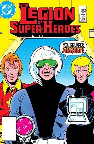 Legion of Super-Heroes (1980-1985) #312