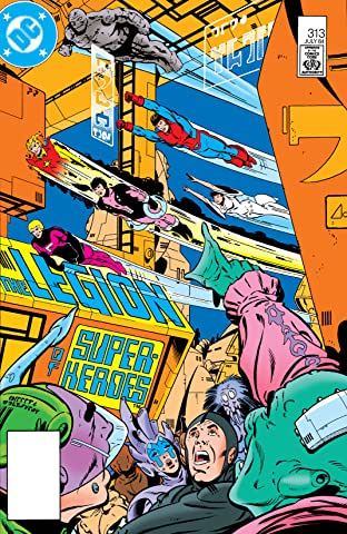 Legion of Super-Heroes (1980-1985) #313