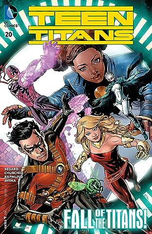 Teen Titans (2014-) #20