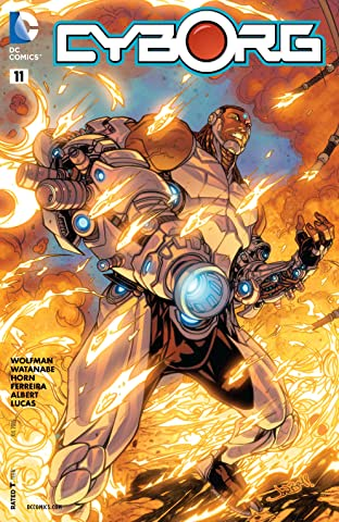 Cyborg (2015-) #11