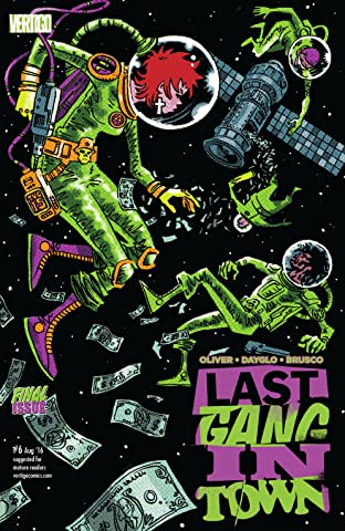 Last Gang in Town (2015-2016) No.6