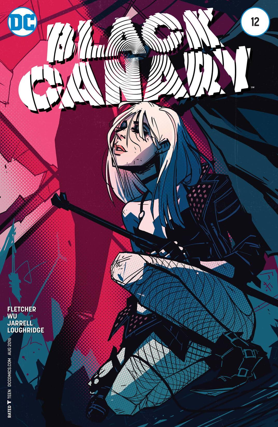Black Canary (2015-2016) #12