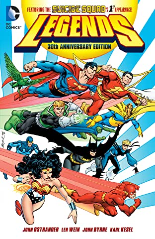 Legends (1986-1987) 30th Anniversay Edition