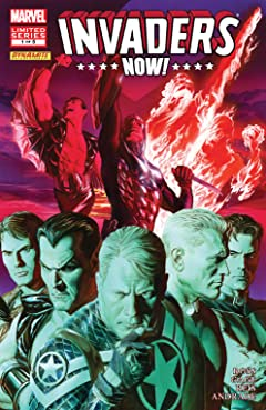 Invaders Now! (2010-2011) #1 (of 5)