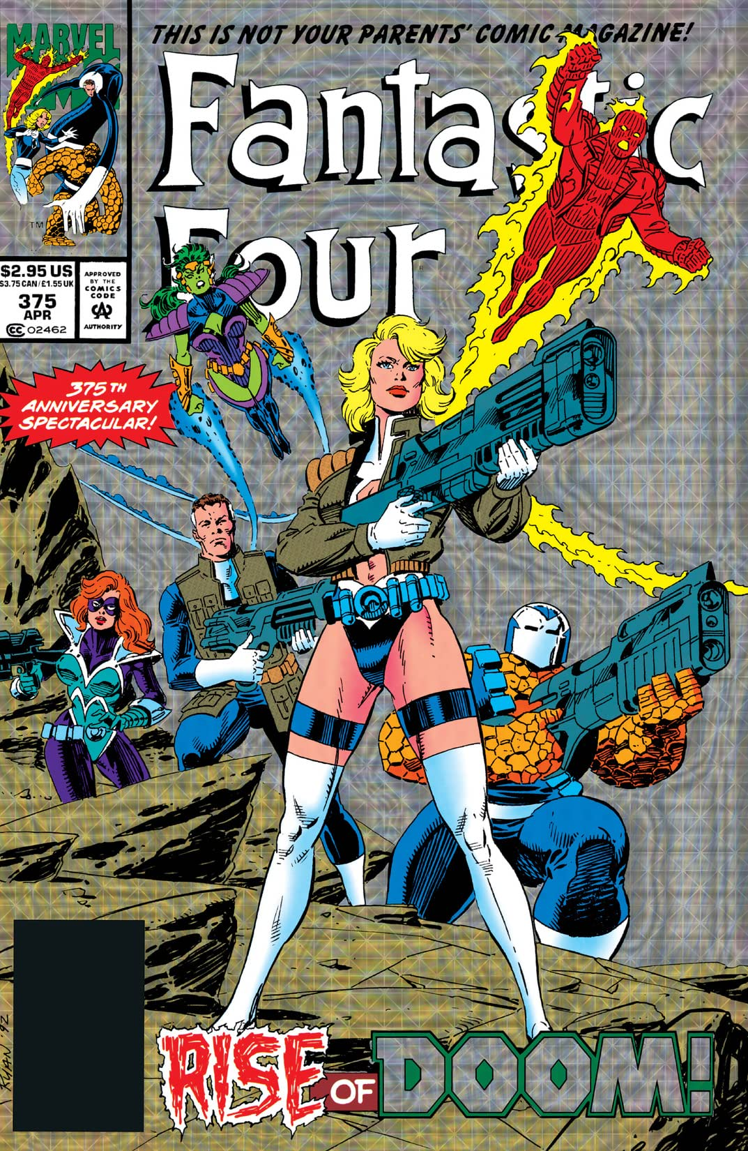 Fantastic Four (1961-1998) #375