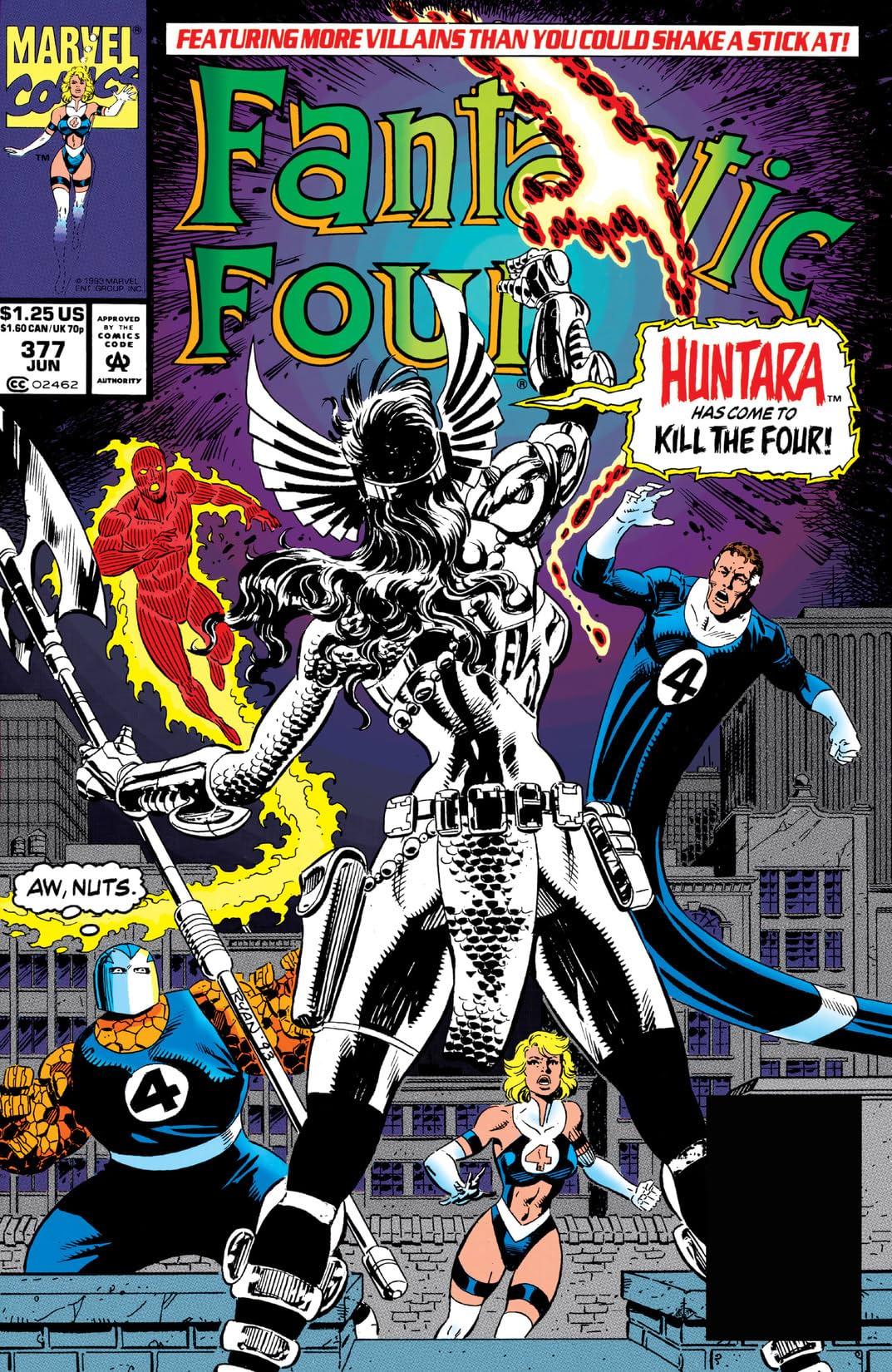 Fantastic Four (1961-1998) #377