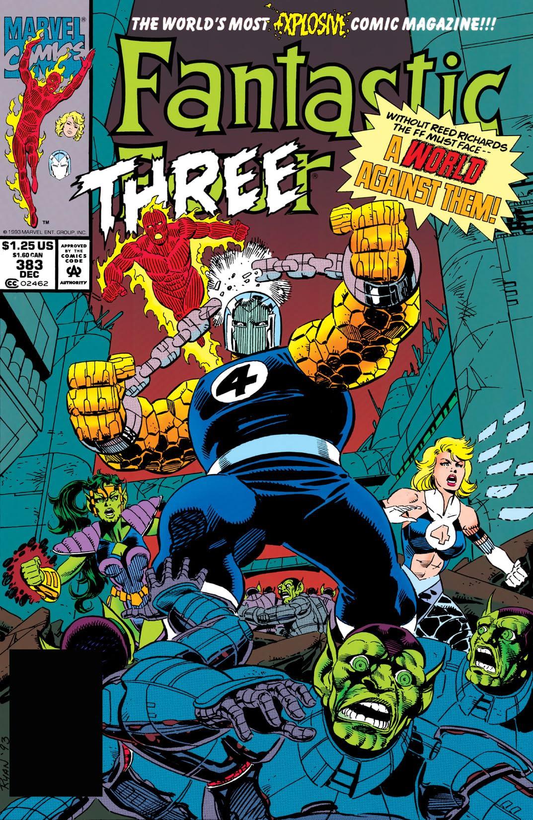 Fantastic Four (1961-1998) #383