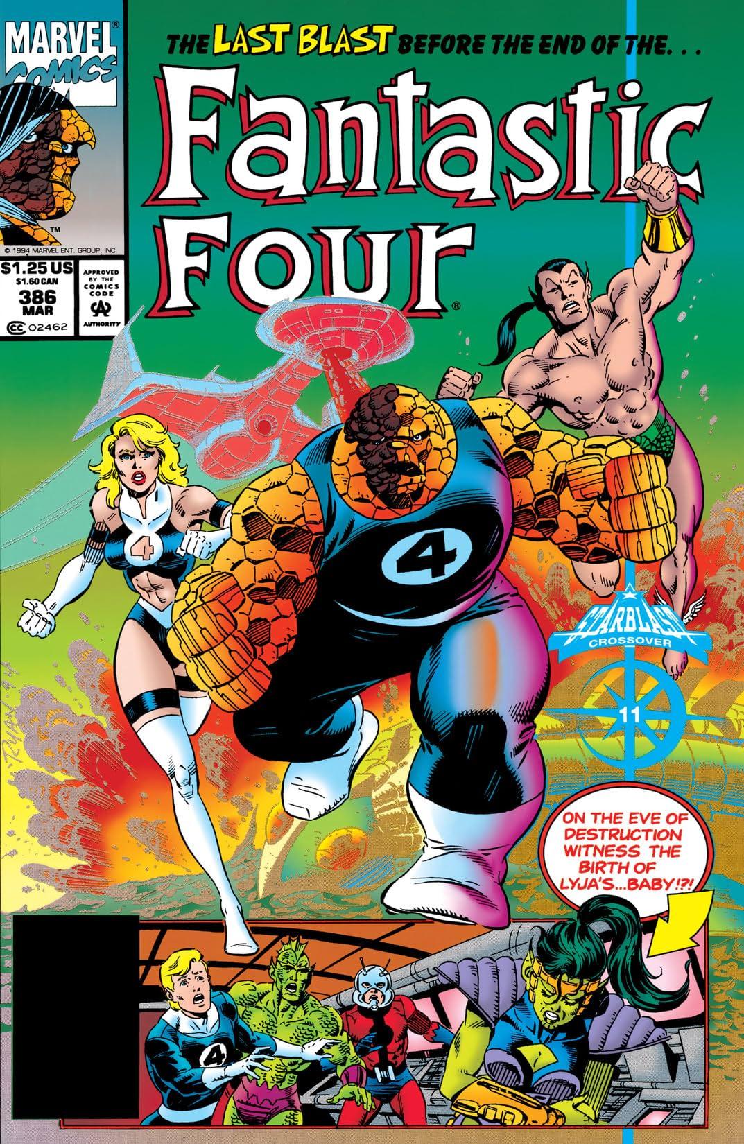 Fantastic Four (1961-1998) #386