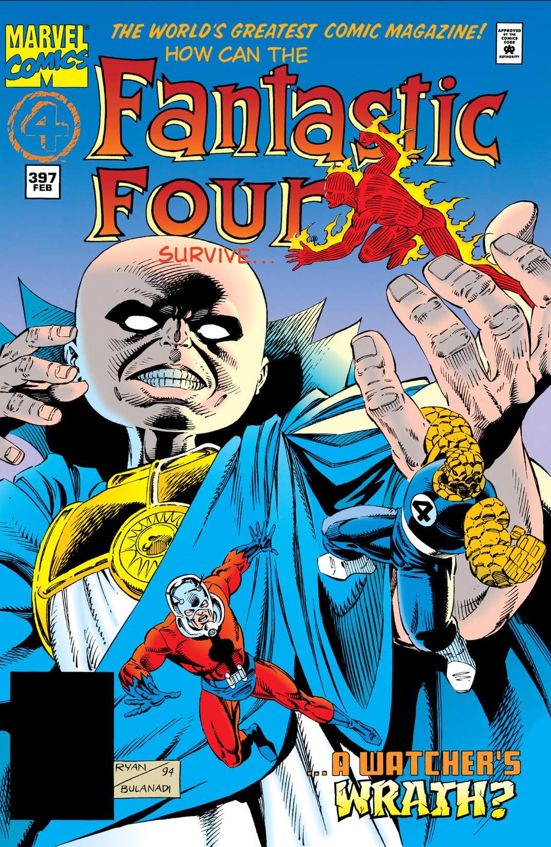 Fantastic Four (1961-1998) #397