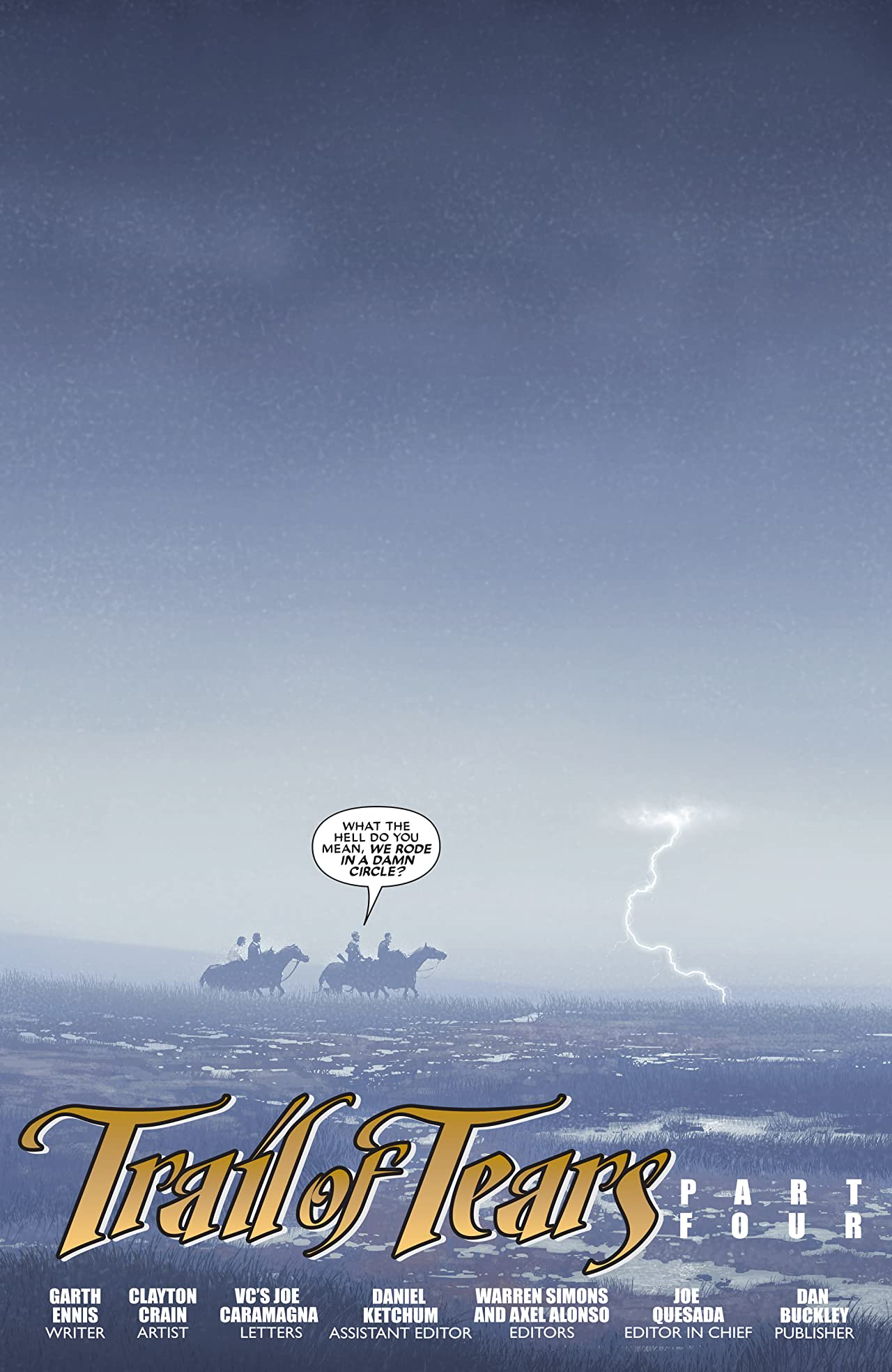 Ghost Rider: Trail of Tears (2007) #4 (of 6)