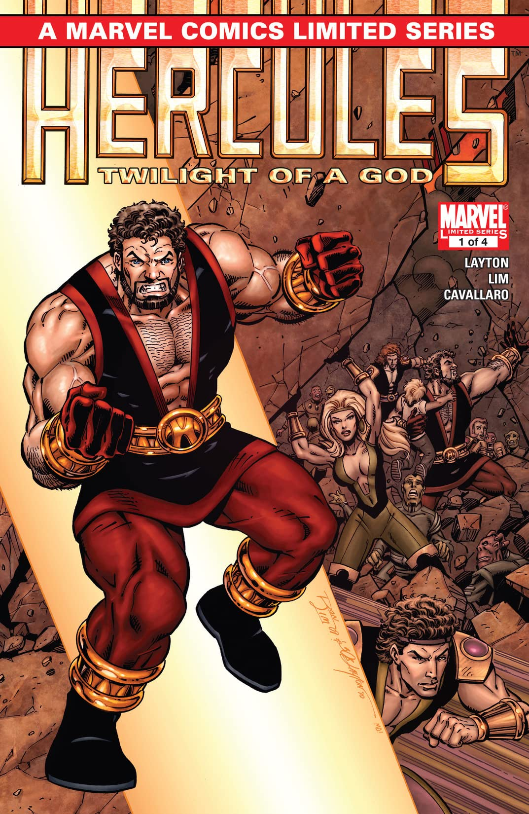 Hercules: Twilight of a God (2010) #1 (of 4)