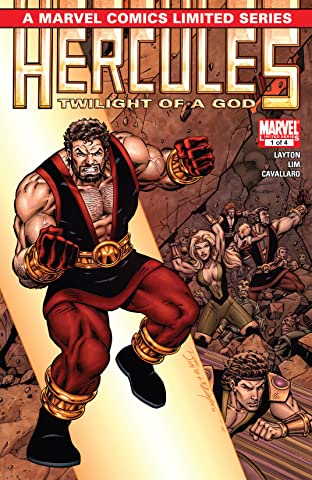 Hercules: Twilight of a God (2010) #1 (of 4)