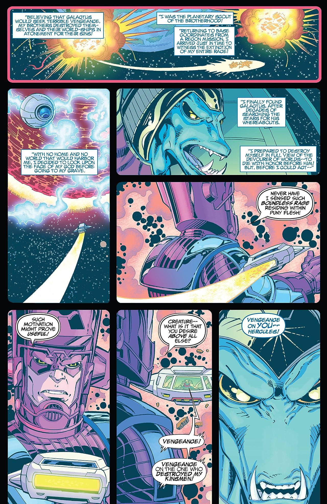 Hercules: Twilight of a God (2010) #2 (of 4)