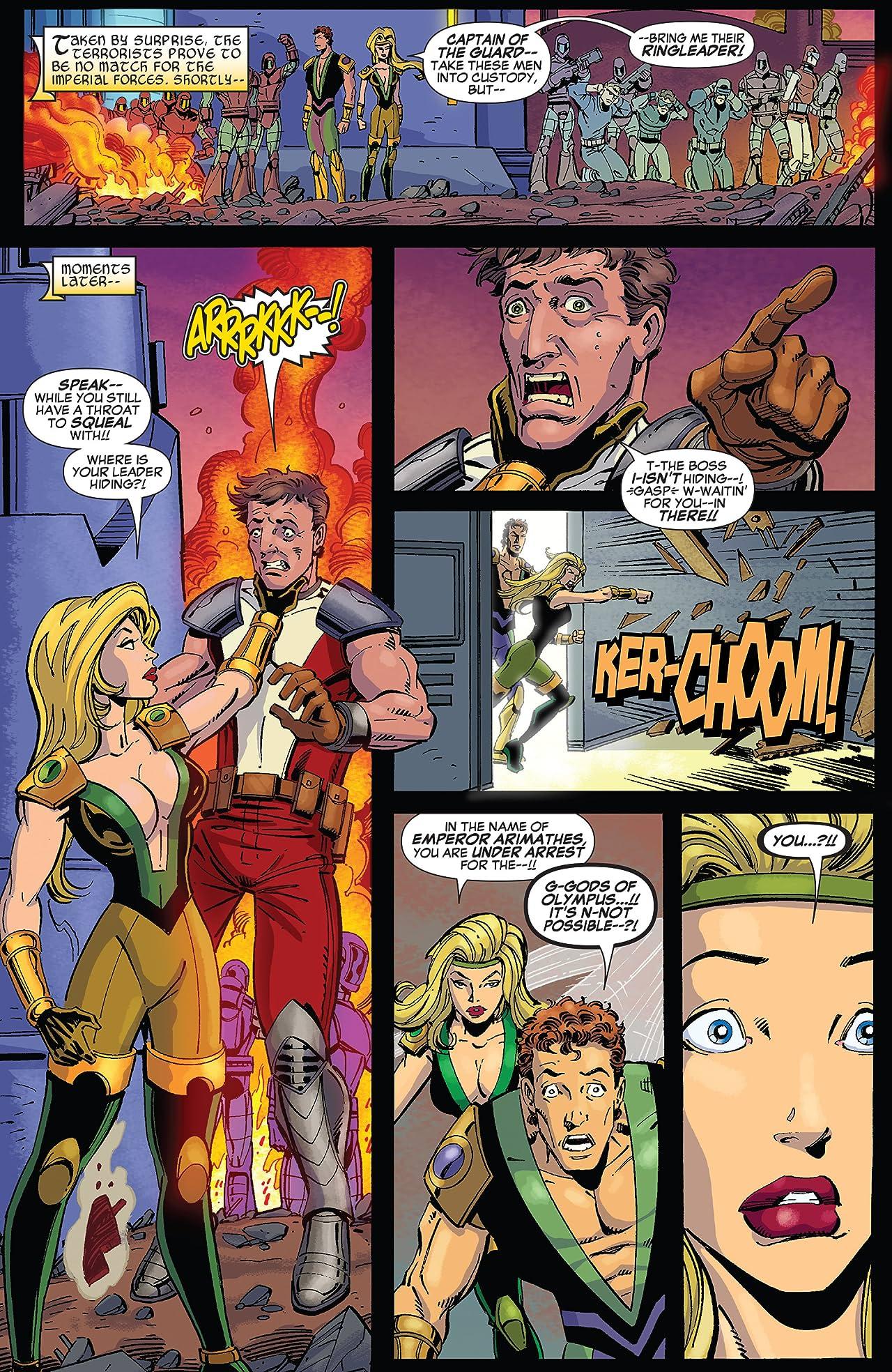 Hercules: Twilight of a God (2010) #4 (of 4)