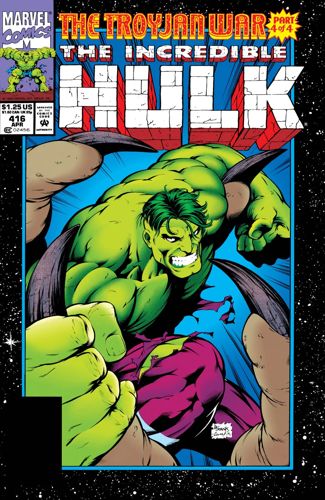 Incredible Hulk (1962-1999) #416