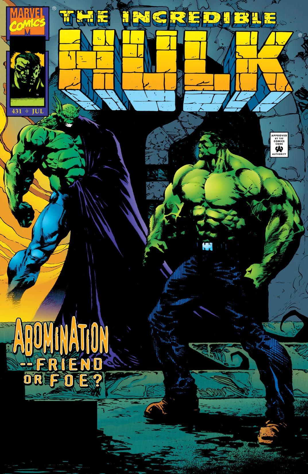 Incredible Hulk (1962-1999) #431