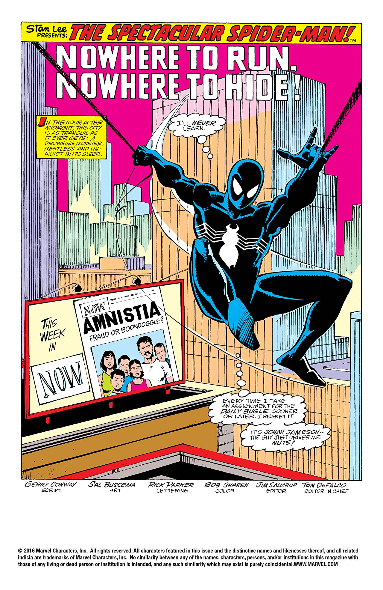 Peter Parker, The Spectacular Spider-Man (1976-1998) #137