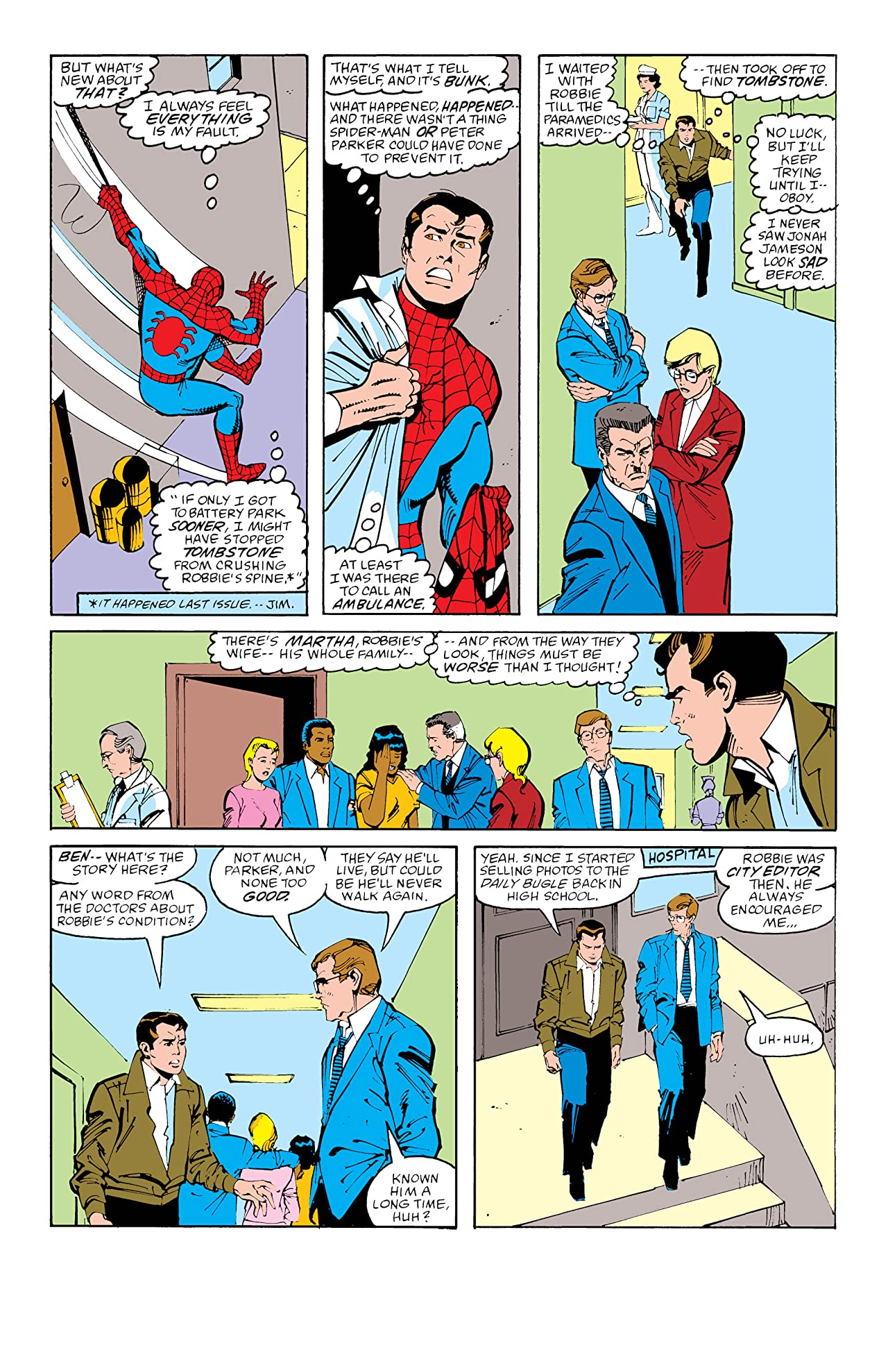 Peter Parker, The Spectacular Spider-Man (1976-1998) #140