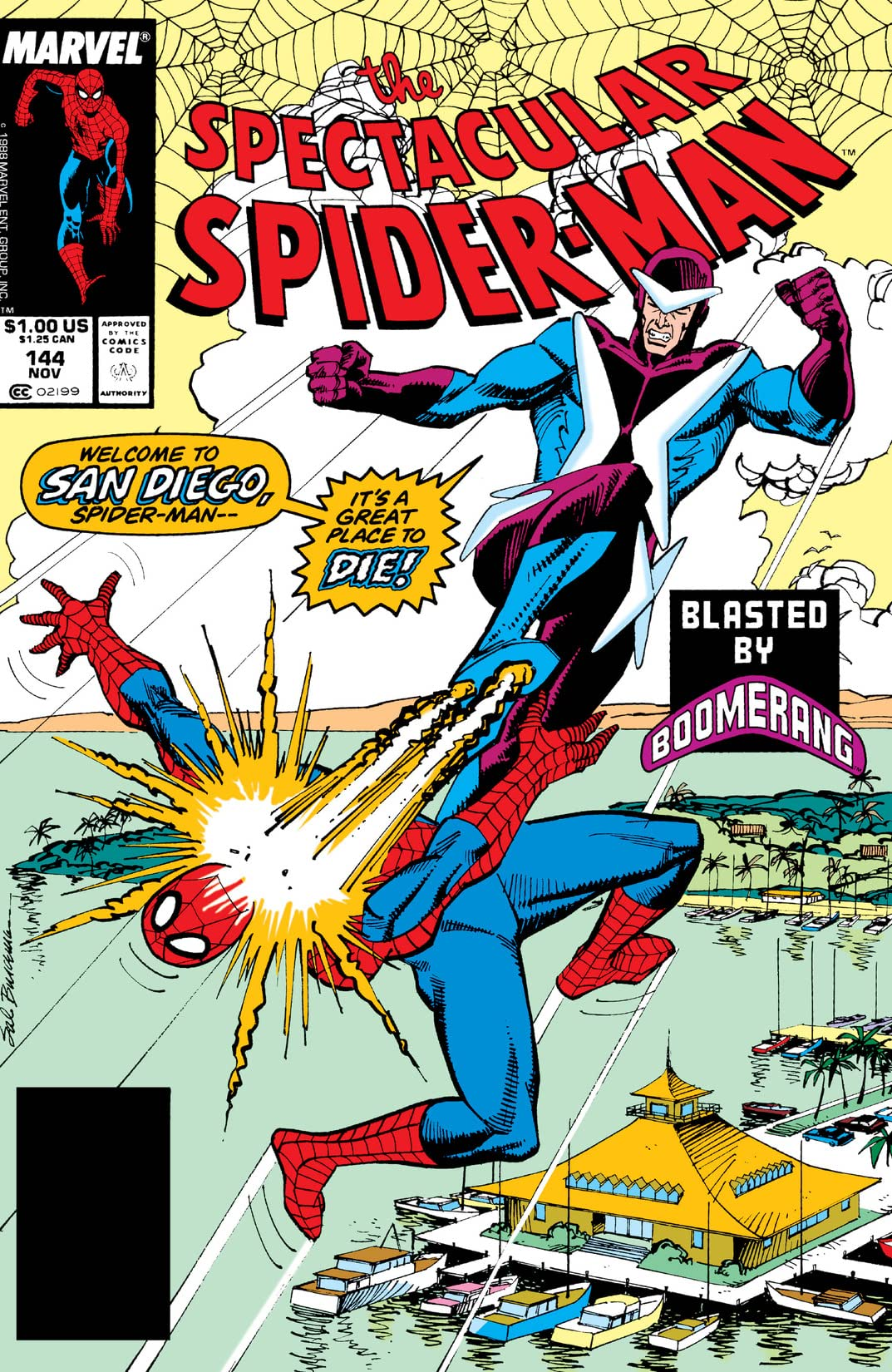 Peter Parker, The Spectacular Spider-Man (1976-1998) #144