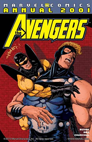 Avengers Annual 2001