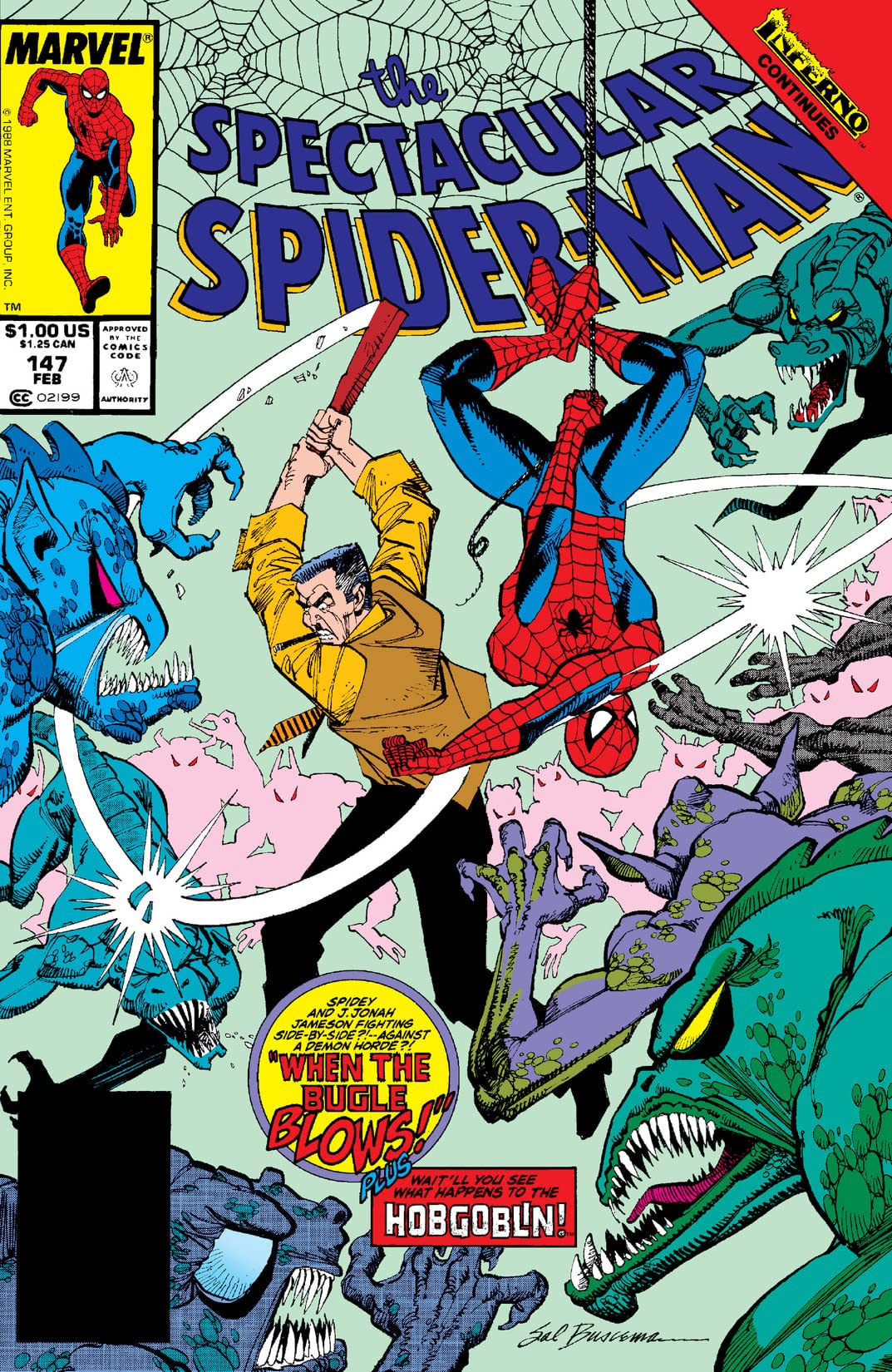 Peter Parker, The Spectacular Spider-Man (1976-1998) #147