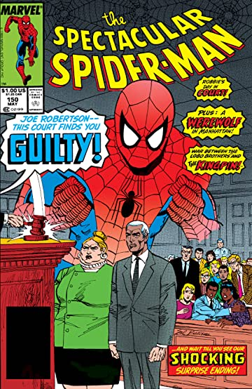 Peter Parker, The Spectacular Spider-Man (1976-1998) #150