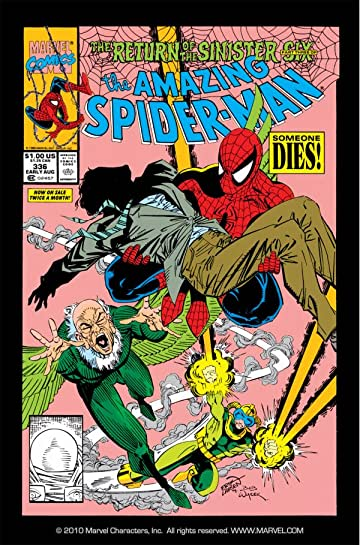 Amazing Spider-Man (1963-1998) #336