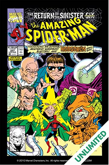 Amazing Spider-Man (1963-1998) #337