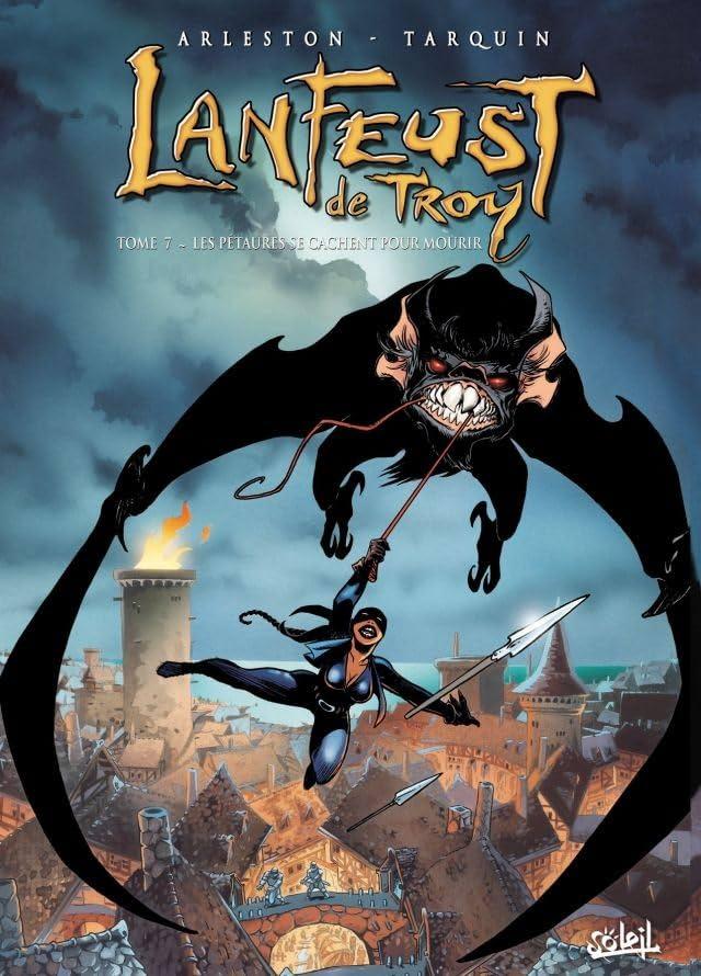 Lanfeust de Troy Vol. 7: Les pétaures se cachent pour mourir
