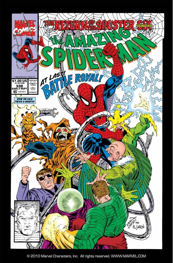 Amazing Spider-Man (1963-1998) #338