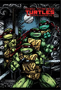 Teenage Mutant Ninja Turtles: The Ultimate B&W Collection Vol. 6