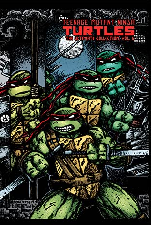 Teenage Mutant Ninja Turtles: The Ultimate B&W Collection Tome 6