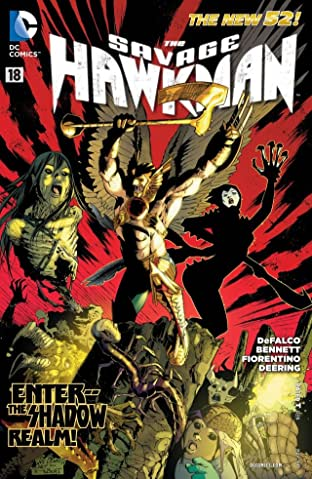 The Savage Hawkman (2011-2013) #18