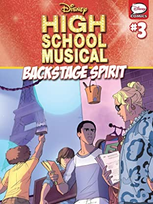 High School Musical #3: Backstage Spirit
